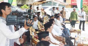 KH. Aqil Siraj Resmikan Gedung NU Kabupaten Kayong Utaradsdd