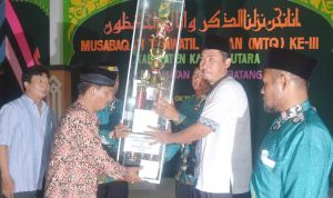 mtq kku ke III di kecamatan teluk batang kayong utara kalbar  ghl