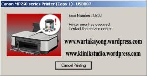 service printer absorber kayong utara canon-MP250-error-5B00-P07