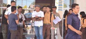 u belakang layar utbk  di bank kalbar ujang tampoy naik uto kku kalbar  indonesia film indie lokal kayong utara