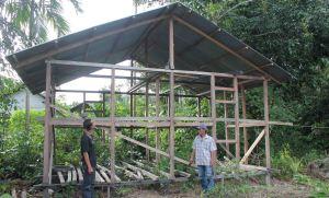 aksi peduli sosial rumah mak ijah rantau panjang kayong utara