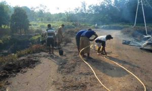 Kebakaran Gereja Rapa Warta Kayong Kalbar