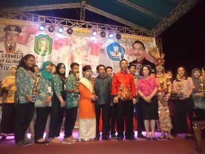 lomba tingkat provinsi dari kayong utara 1 saa