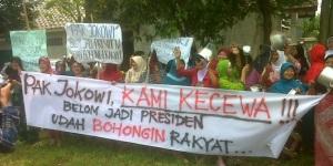 jw Demo Kocak Anti Jokowi Nyapres