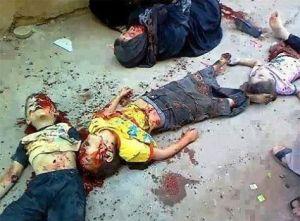 anak gaza korban anjing israel