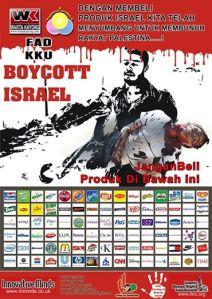 boikot produks israel