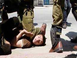 kebiadaban israel kepada anak-anak palestina