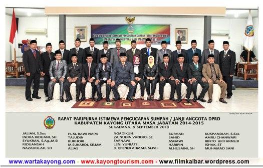 foto foto anggota dprd kayong utara 2014 2019