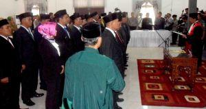 Pelantikan DPRD KKU 2_Warta Kayong