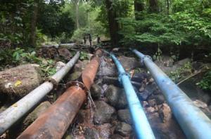 proyek gagal air bersih kayong utara