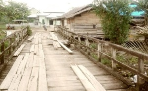jembatan rusak telaga arumxxx