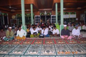 Remas babul Hasanah Sukses Acara Maulid 1436 H  Tahun 2015