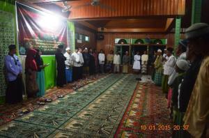 Remas babul Hasanah Sukses Acara Maulid 1436 HTahun 2015  r