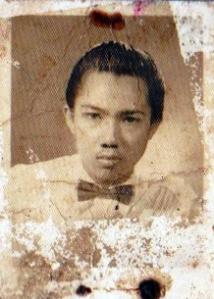 foto gusti muhammad mulia masih muda (anak pertama dari gusti mesir ) 1960an