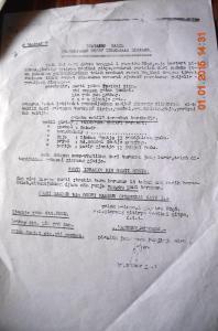 naskah surat zaman jepang di kerajaan simpang matan_ simpang hilir kayong utara  warta kayong