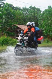 banjir di jalan batu daya rabu 17 Februari 20151