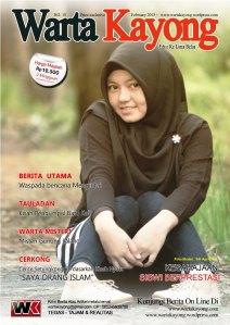 warta kayong cover edisi 16 siti aprilianti 2015 cantik