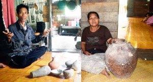 Yong saad barang antik dari wangsit,  juru kunci sungai meledang tanjung satai pulau maya