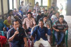 rapat RAT Koperasi PSAS Desa Batu Barat kecamatan simpang hilir kabupaten kayong utara kalimantan barat indonesia