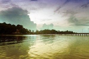 pelabuhan tanjung satai pulau maya 2015