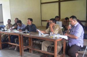rapat rat Koperasi PSAS Desa Batu Barat