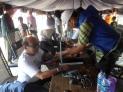 bupati kayong utara sedang periksa kesehatan di festival karimata 2015 menyambut sail karimata 2016