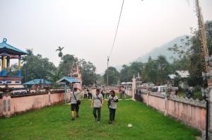 Keramahan Warga Negeri Bertuah yang Membuat Betah, kondisi kampung bali sedahan saat kedatangan tim jurnalis trip