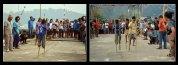 lomba permainan engkrang pada festival karimata 2015 di desa betok menyambut sail karimata 2016